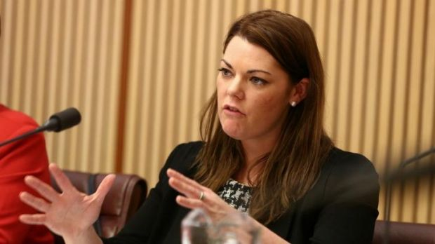 """Sarah Hanson-Young: The Greens senator said that immigration information was being leaked at """"suspiciously convenient times""""."""