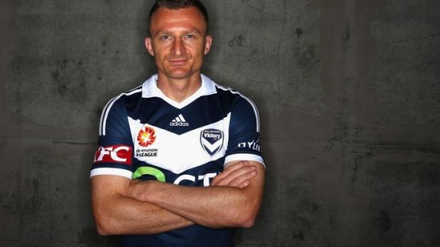 """This is a fantastic place to play football, in a big club in a city which is all about sport."" Melbourne Victory ..."