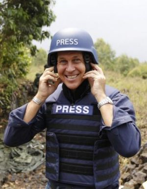 Peter Greste is not a terrorist; he has no axe to grind or political affiliations.