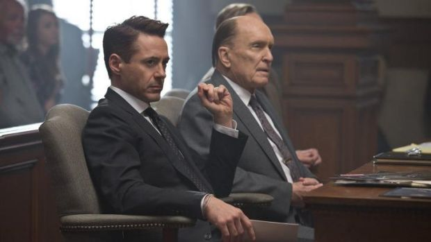 Robert Downey Jr and Robert Duvall star in <i>The Judge</i>.