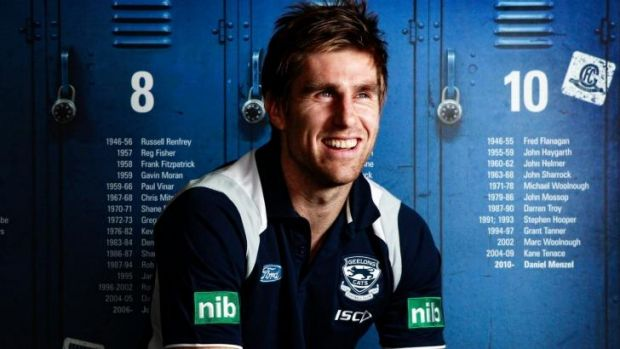 Cats and Dogs: Tom Lonergan has been approached by the Western Bulldogs.