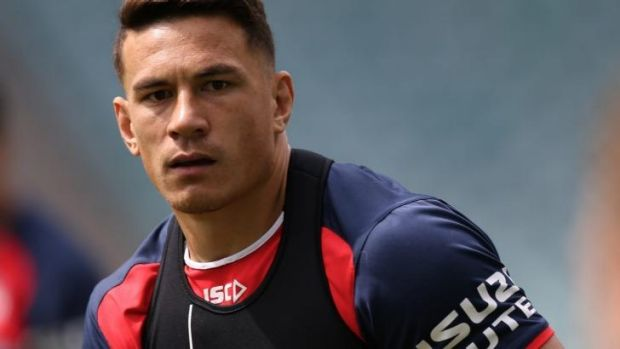 """""""The thing that was pleasing about tonight was that it came instinctively"""": Sonny Bill Williams."""
