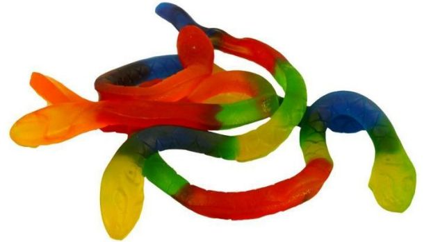 Lean not mean: Nestle is putting its oversized jelly snake on a diet.