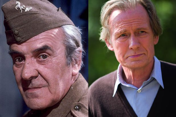 <i>Dad's Army</i>: Sergeant Arthur Wilson to be played by Bill Nighy (right).