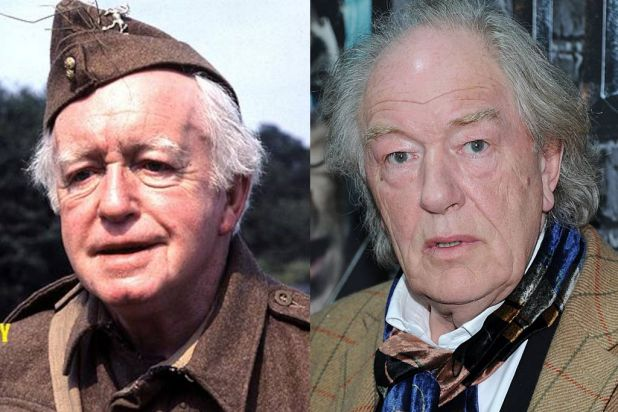 <i>Dad's Army</i>: Godfrey to be played by Michael Gambon (right).