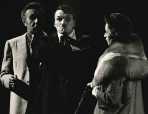 John Bell with Reg Gillam and Darlene Johnston in The Resistible Rise of Arturo Ui in 1972.