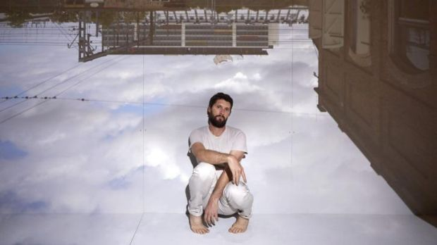 Byron Perry plays with the world in his new dance work <i>Obscura</i>, at Carriageworks.
