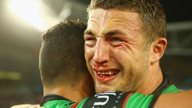 Extended lay-off: Sam Burgess.