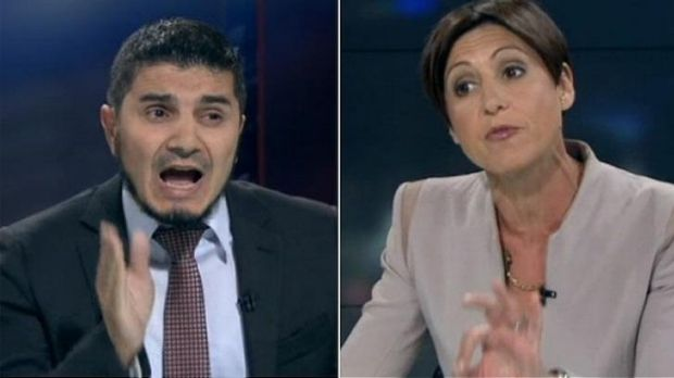 """""""The exchanges between Mr Doureihi and host Emma Alberici escalated unhelpfully into a slanging match that left ..."""