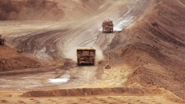 Rio is racing to increase iron ore production by almost 25 per cent, regardless of the impact on prices.