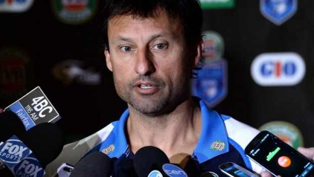 Sudden departure: Laurie Daley.