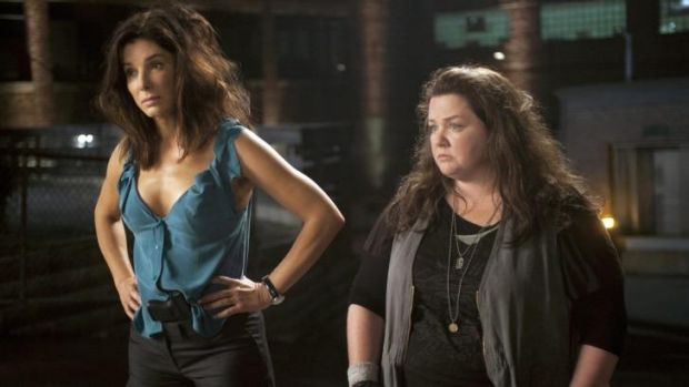 Paul Feig and Katie Dippold collaborated on <i>The Heat</i>, starring Sandra Bullock and Melissa McCarthy.