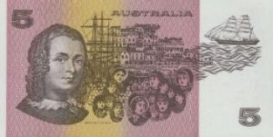Now you see her: Caroline Chisholm on the $5 paper note.