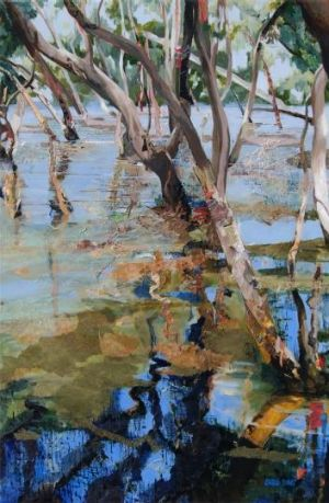 Watery reflections: High Tide, Wynnum, by Carole King, which won the grand prize.