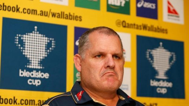 Ewen McKenzie announces the Australian squad on Friday for the Test against New Zealand.