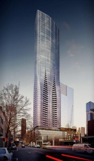 Developer: Sino Ocean Land; Development: Eq Tower, Melbourne; 63 levels, 633 units.