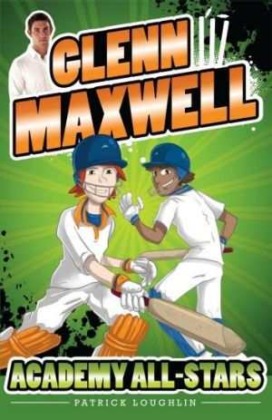 Star name: A book written with Australian cricketer Glenn Maxwell is aimed at young readers.
