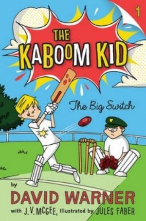 Child-friendly: One of the The Kaboom Kid series of books written for children.