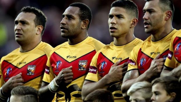 Rewarded: Papua New Guinea is a league stronghold.