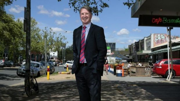 TOURIST TRAP: VisitCanberra director Ian Hill says development of areas like Braddon will add visitor value.