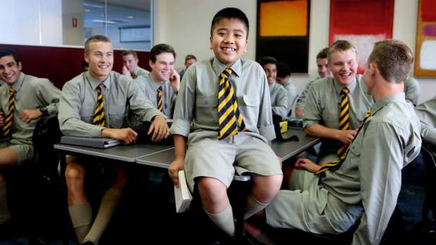 Exceptional: Jonah Soewandito is one of the youngest students to sit the HSC and says he would like to find cures for ...