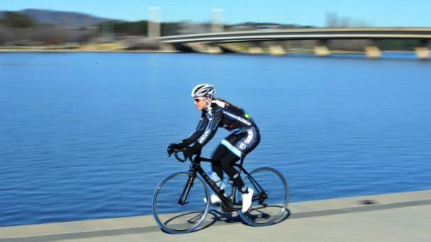 Allison Rice is trying to combine road and track cycling.