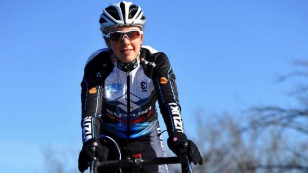 Canberra cyclist Allison Rice won a silver medal at the Oceania Championships in Adelaide on Saturday night.