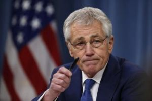 US Defence Secretary Chuck Hagel.