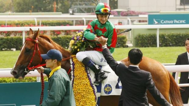 Hong Kong riding royalty: Douglas Whyte.