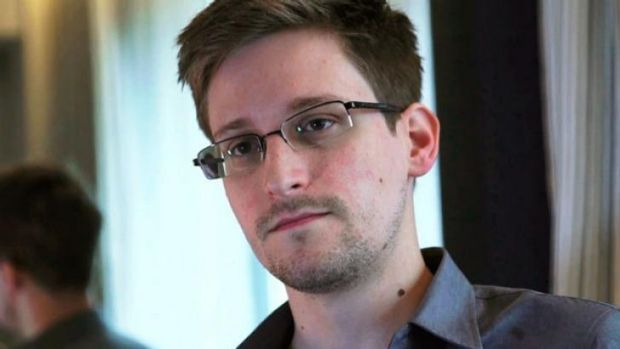 Former National Security Agency contractor Edward Snowden.