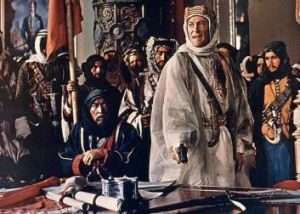 Florence of the Desert? Peter O'Toole in <i>Lawrence of Arabia</i>.