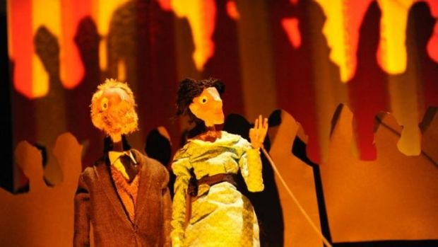 Simple figures: <i>Something Very Far Away</i>, part of the children's program at the Melbourne Festival.