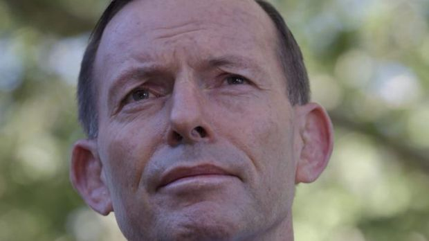 """Prime Minister Tony Abbott: """"Coal is essential for the prosperity of the world""""."""