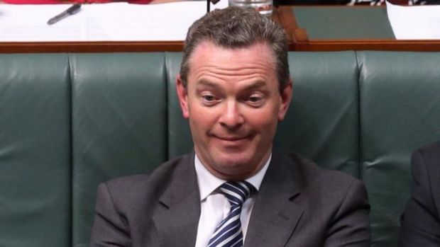Are we being too hard on Christopher Pyne, or is it all fair game?