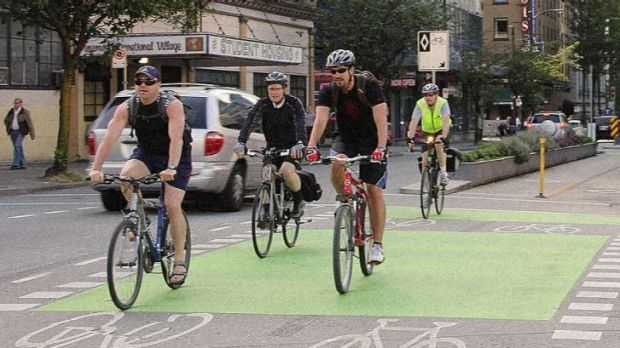 Cycling groups have called for segregated bikeways to protect cyclists from traffic.