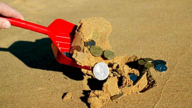Buried treasure: About 650,000 workers are estimated to be missing out on up to $2.5 billion annually in superannuation ...