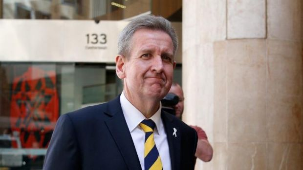 Former premier Barry O'Farrell wants the new laws to be retrospective.