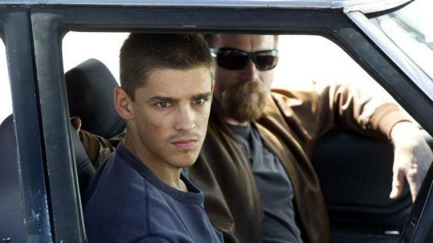 Intense: Brenton Thwaites and Ewan McGregor partner up in <i>Son of a Gun</i>.