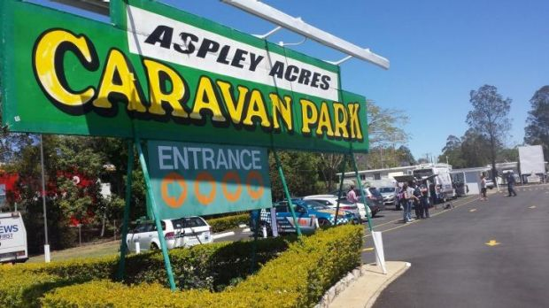Aspley Acres Caravan Park, in Brisbane's north.