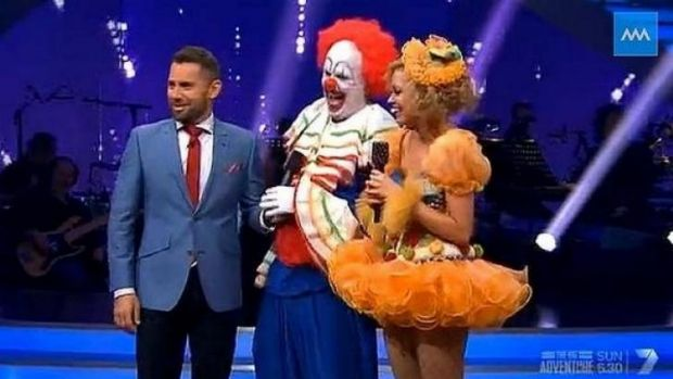 Mark Holden on Dancing with the Stars as a clown.