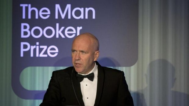 """Novels are life, or they are nothing"": Richard Flanagan speaks after being awarded the Man Booker Prize at the ..."