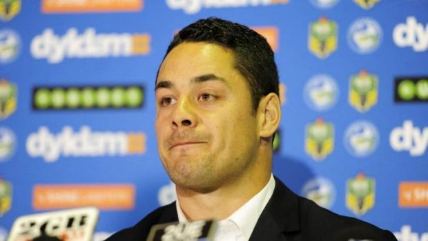 Jarryd Hayne announces his departure from the NRL to try his hand at American football.