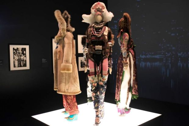 Jean Paul Gaultier exhibition at the National Gallery of Victoria.