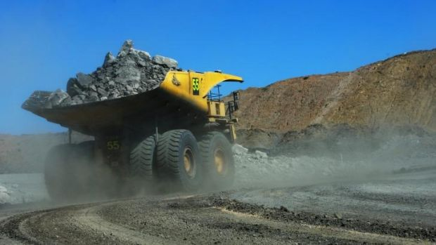 Questionable future: A truckload of coal at Goonyella Riverside Mine near Moranbah in Central Queensland.
