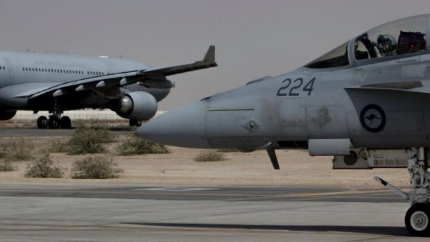 Australia's Super Hornets have made 43 flights over Iraq, dropping bombs at least twice, destroying IS facilities and ...