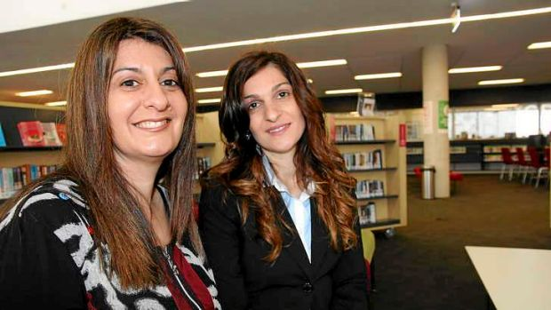 Tania Barry, left, and Marea Ekladious are helping people use their library in a new way.