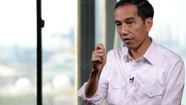 Indonesia's incoming president Joko Widodo.