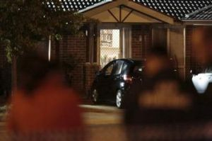 Killing: The suspected murder happened in a home on Dexion Place, Dunlop.
