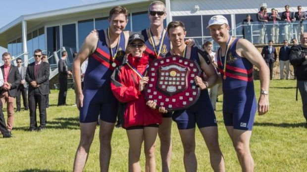 The 44th Disher Cup Regatta: Royal Military College Crew, men's coxed four.