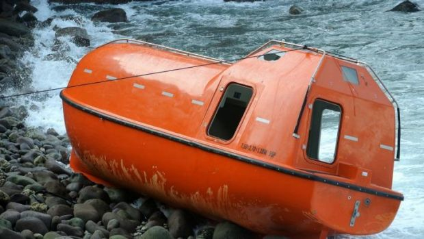 Australian customs lifeboat sent back to Indonesia with 28 asylum seekers on board last February.